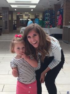 Emily Arrow with a fan